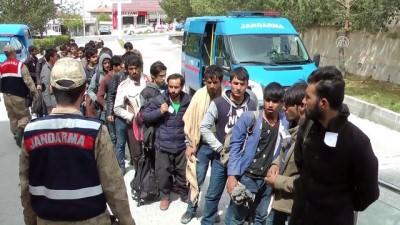 58 kaçak göçmen yakalandı - ERZİNCAN