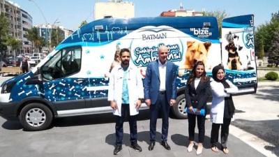 - Batman'da hayvanlar için ambulans tahsis edildi