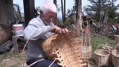 bild - 'Bekir Dede' sepetlerini 72 yıldır sevgiyle örüyor - GİRESUN İzle