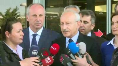 basin mensuplari - CHP Genel Başkanı Kılıçdaroğlu: 'Biz önümüzdeki günlerde parti meclisimizi toplayacağız, adayımızı böylece belirlemiş olacağız' - İSTANBUL