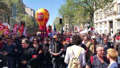Fransa'da genel grev - PARİS
