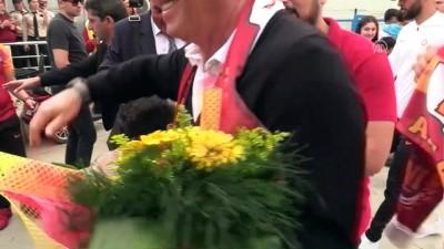 Galatasaray kafilesi, Antalya'ya geldi - ANTALYA