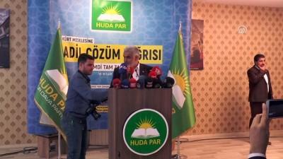 HÜDA PAR Genel Başkanı Yapıcıoğlu - DİYARBAKIR