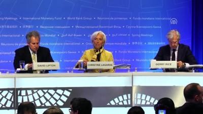 IMF Başkanı Lagarde'dan 'ticaret çatışmaları' uyarısı - WASHINGTON
