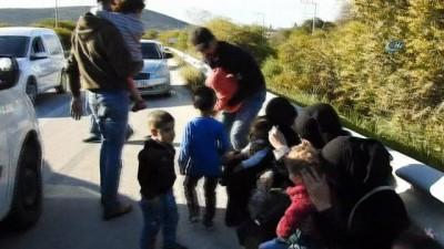 akalan -  İnsan kaçakçılığından 11 kişiye tutuklama İzle