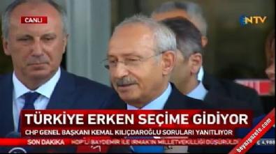 kemal kilicdaroglu - Kemal Kılıçdaroğlu'ndan adaylık açıklaması