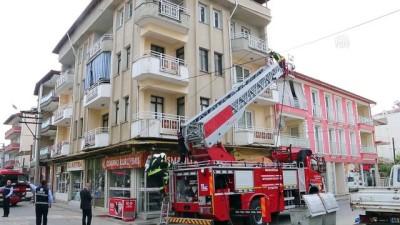 Kula'da ev yangını - MANİSA