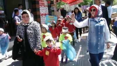 Minik öğrencilerden temizlik kampanyası - SİİRT
