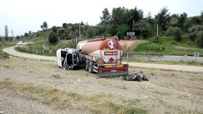 Öğrenci servisi ile tanker çarpıştı: 15 yaralı - ANTALYA