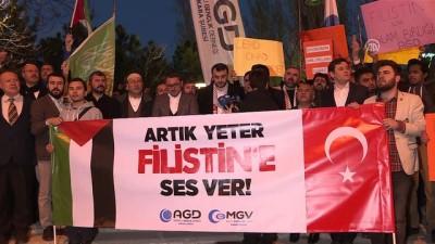 Başkentte Filistin protestosu - ANKARA