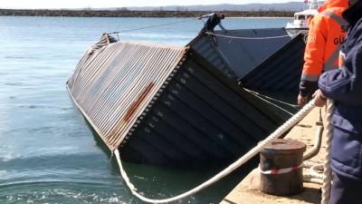 Denizdeki başıboş konteynerler incelenecek - KIRKLARELİ