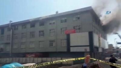 Gaziosmanpaşa'da bir tekstil fabrikasında yangın çıktı. Olay yerine çok sayıda itfaiye ekibi sevk edildi