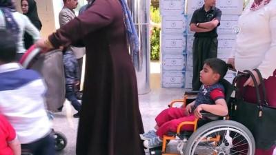 Türk Kızılayı'ndan Erbil'deki otistik çocuklara yardım