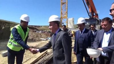 Yüksekova'da 4. etap TOKİ konutlarının temeli atıldı - HAKKARİ