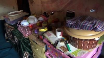 8 nüfuslu aile ahırda yaşam mücadelesi veriyor