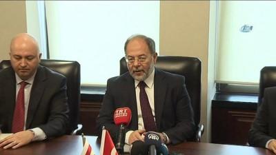 ekonomik buyume -  Başbakan Yardımcısı Akdağ, KKTC Ekonomi ve Enerji Bakanı Nami ile bir araya geldi