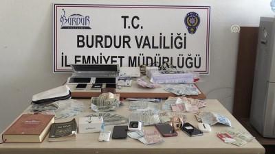 teror orgutu - Burdur'da FETÖ'nün 'hücre evleri'ne operasyon