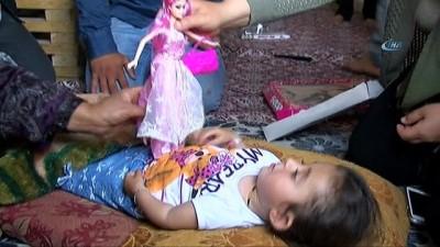 Cam kemik hastası küçük Hülya'ya yardım eli uzandı