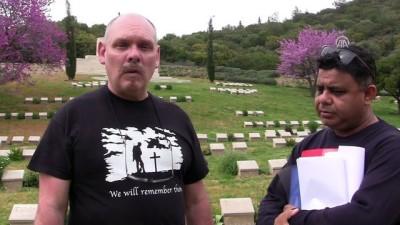 Çanakkale Savaşları'nda ölen 'kardeş Anzaklar'ın peşinde - ÇANAKKALE