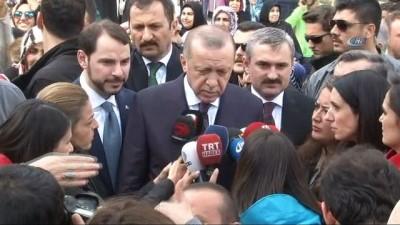 basin mensuplari -  Cumhurbaşkanı Erdoğan:'Bu futbol teröründen öte bir şey . Ayrıca kumpas var'