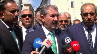 Destici: 'Cumhur ittifakının adayı kimse Büyük Birlik Partisi'nin adayı o olacaktır'