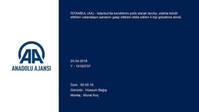 Gaspçı sahte polisler yakalandı - İSTANBUL