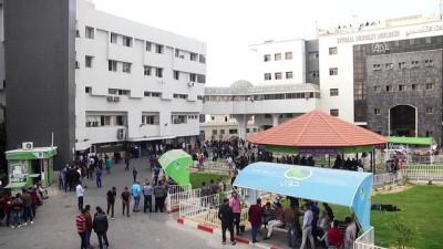 hastane - Gazze'de şehit sayısı 4'e yükseldi - GAZZE