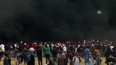 israil - Gazze Şeridi'ndeki 'Büyük Dönüş Yürüyüşü' dördüncü haftasında (3) - HAN YUNUS