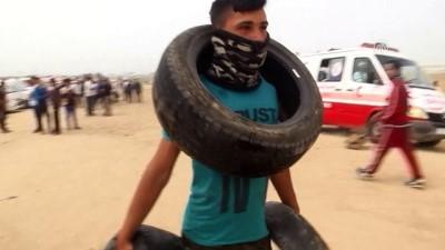 israil - Gazze Şeridi'ndeki 'Büyük Dönüş Yürüyüşü' dördüncü haftasında (4) - HAN YUNUS