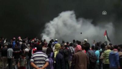 israil - Gazze Şeridi'ndeki 'Büyük Dönüş Yürüyüşü' dördüncü haftasında (6) - HAN YUNUS