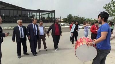 Görme engelli şampiyon atletler, coşkuyla karşılandı - GAZİANTEP