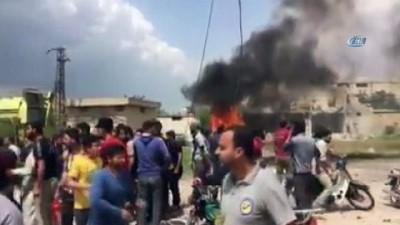 sivil savunma -  - Hama'da patlama; 2 ölü, 5 yaralı