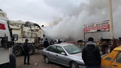 Iğdır Sanayi Sitesi'nde patlama