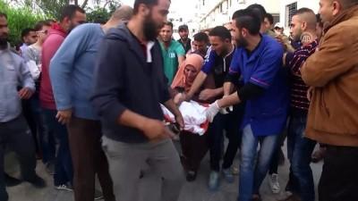 hastane - İsrail 4 Filistinliyi şehit etti, 445 Filistinliyi yaraladı - GAZZE