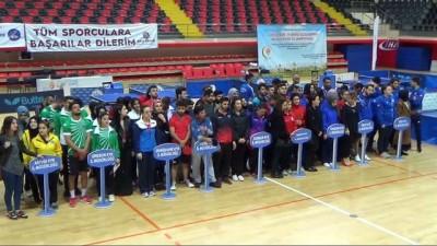 Karadeniz KYK Masa Tenisi Turnuvası başladı