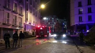 Kırıkkale'de apartta yangın Video