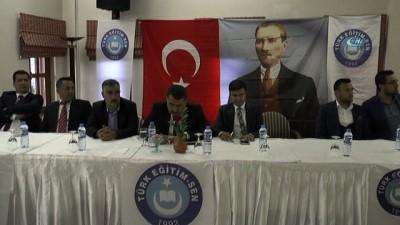 """Türk Eğitim Sen Genel Başkan Yardımcısı Şahindoğan: """"Öğretmen performans değerlendirmesini kabul etmiyoruz"""""""