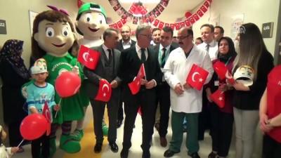 hastane - Yozgat Şehir Hastanesi'nde 23 Nisan kutlaması