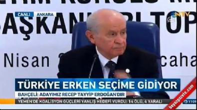 devlet bahceli - Bahçeli'den İYİ Parti açıklaması