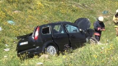 Bahçeşehir'de feci kaza: 2'si ağır 3 yaralı Haberi