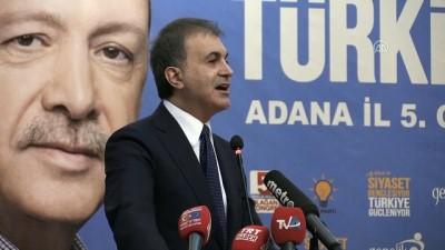 Bakan Çelik: 'Her seçim hedeflerimize sarılmak için bir vesile' - ADANA