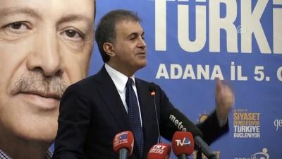Bakan Çelik: 'Yaptığımız iş bir rejim değişikliği değildir' - ADANA