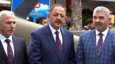 allah -  Bakan Özhaseki: 'Kongrelerimizi bazı partiler gibi düğün salonunda sandalyelerin havada uçuştuğu bir ortamda yapmadık'