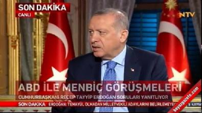 Erdoğan Macron'la görüşmesini anlattı