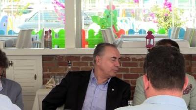 basin mensuplari - Galatasaray Kulübü Başkanı Cengiz yemeğe katıldı - ANTALYA