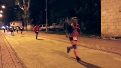 İznik Ultra Maratonu'nda 140 kilometrelik koşu başladı - BURSA