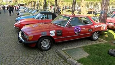 Klasik otomobillerin yarıştığı geleneksel 'Bahar Rallisi' başladı