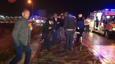 Konya'da otobüs kazası: 18 yaralı