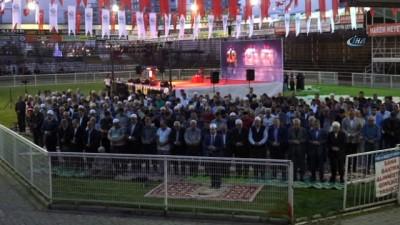 Kumluca'da şehitler ve geçmişler anısına özel gece