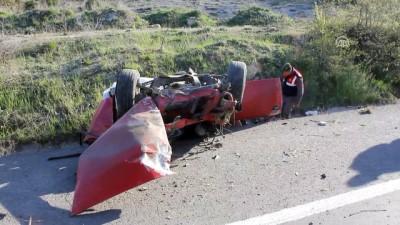 Otomobil şarampole devrildi: 1 ölü - KÜTAHYA Haberi